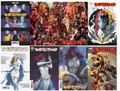 INFERNO #1 (2021,MARVEL, HICKMAN)   SET OF 7 COVERS