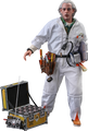 BACK TO THE FUTURE DOC BROWN DELUXE HOT TOYS SIXTH SCALE FIGURE