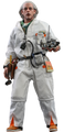 BACK TO THE FUTURE DOC BROWN REGULAR VERSION HOT TOYS SIXTH SCALE FIGURE
