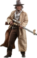 BACK TO THE FUTURE III DOC BROWN HOT TOYS SIXTH SCALE FIGURE MMS