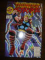 THUNDERSTRIKE #1 SIGNED BY FRENZ  - SILVER FOIL
