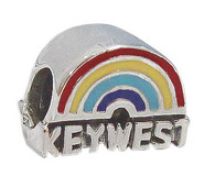 Rainbow Key West Bead
