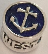 Anchor / Ships Wheel Key West Bead