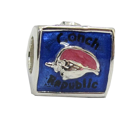 Conch Republic Bead Side 1