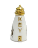 Key West Lighthouse Bead. Sterling Silver, Enamel, and gold plated accents.