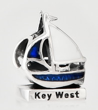 Key West Sailboat Bead