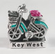 Key West Bike Enamel Bead