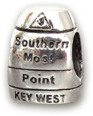 Southernmost Point Silver Bead