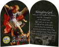 Navy - St. Michael Arched Diptych