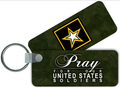 Army Rectangle Keychain