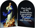 Prayer for the USA Arched Diptych