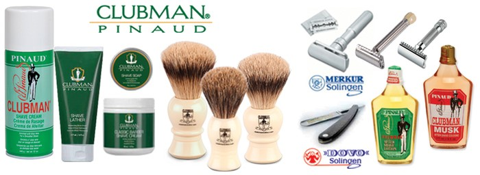 Clubman Online Shaving Products