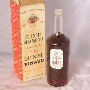 Pinaud Elixir Shampoo used by James Bond
