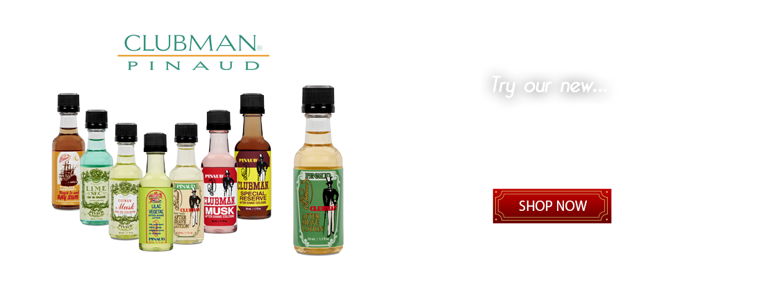 Clubman Pinaud | Shampoo | Deodorant |Talc | Shave Cream | Aftershave