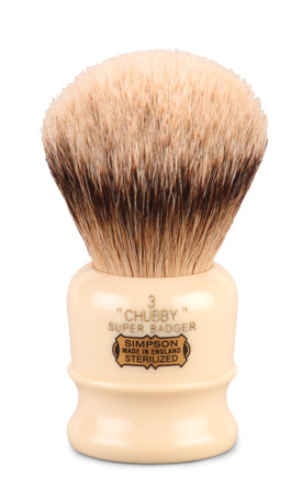 Simpso badger chubby brush suggest you