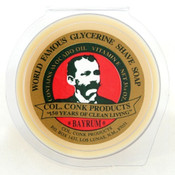 Colonel Conk Bay Rum Shave Soap - Super Bar