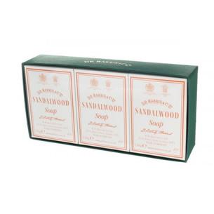 D.R. Harris - Sandalwood Bath Soap Box of 3