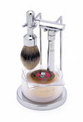 Merkur - 4 pc FUTUR Shave Set, Polished Finish #750