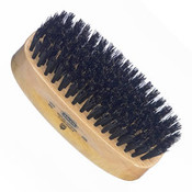 Kent - Hair Brush, Rectangular, Satinwood, Black Bristle