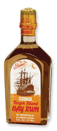 Clubman Virgin Island Bay Rum Cologne and After Shave, 6 oz.