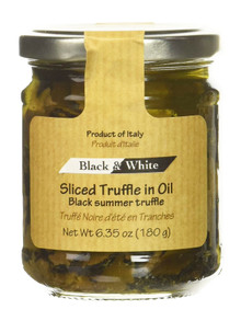 Black & White™ Sliced Black Summer Truffles