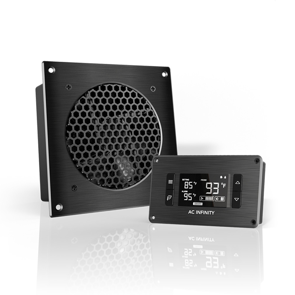 AIRPLATE T3, Home Theater And AV Quiet Cabinet Cooling Fan