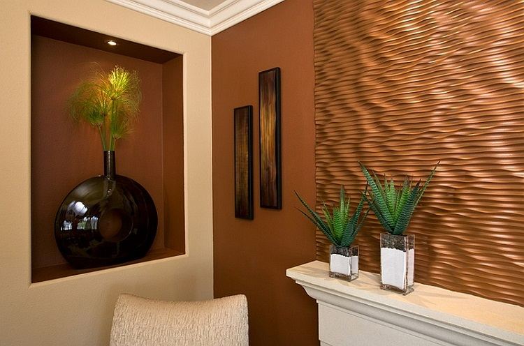 Using Contrasting Textures Can Be A Great Way To Draw Attention To Copper  Decor Elements