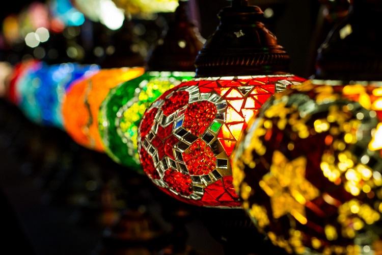 Turkish Mosaic Lamps - Turkish Crafts