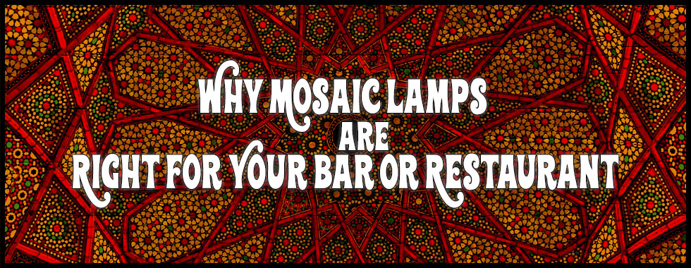 Turkish Mosaic Lamps aren't Just for the Home