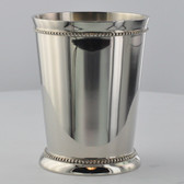 12oz Nickel-Plated Mint Julep Cups, Set of Four MJ20012