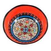 Nimet Classical Turkish Porcelain Bowl 15cm by Paykoc N10015 Yellow