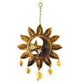 Iron Sun Moon WindChime