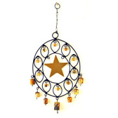 Iron OVAL Wind Chime