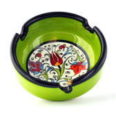 Nimet Classical Ashtray - Light Green 8cm - Front