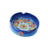 Nimet Deluxe Ashtray - Blue 10cm - Front