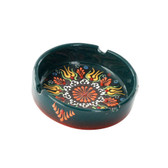 Nimet Deluxe Ashtray - Green 10cm - Front