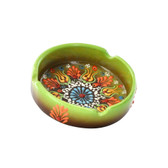 Nimet Deluxe Ashtray - Light Green 10cm - Front