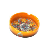Nimet Deluxe Ashtray - Yellow 10cm - Front