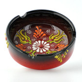 Nimet Deluxe Ashtray - Black 8cm - Front