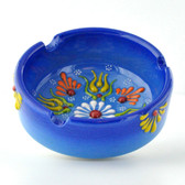 Nimet Deluxe Ashtray - Blue 8cm - Front