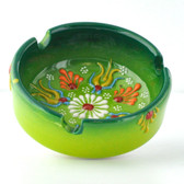 Nimet Deluxe Ashtray - Green 8cm - Front