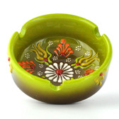 Nimet Deluxe Ashtray - Light Green 8cm - Front