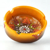 Nimet Deluxe Ashtray - Yellow 8cm - Front