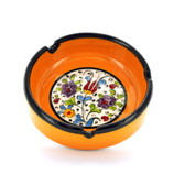 Nimet Classical Ashtray - Yellow 10cm - Front