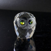 Papa Owl Crystal Figurine by Paykoc CR1106-2 L