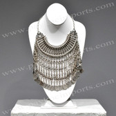 Necklace being worn