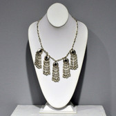 Necklace As Worn -  Black Southwest