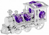 Silver Ornament Locomotive