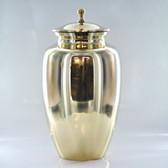 """10"""" Brass Urn"""