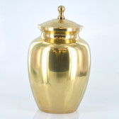 "7"" Urn W/ Antique Brass Finish"